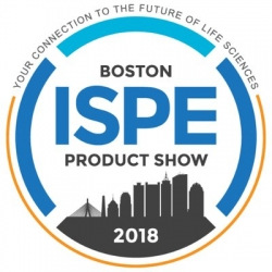 ISPE BOSTON PRODUCT SHOW – SEPTEMBER 2018